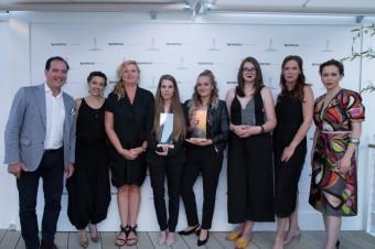 Vítězky a porota české sekce filmové soutěže Nespresso Talents