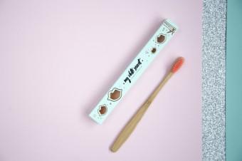 Bambusový zubní kartáček, My White Secret