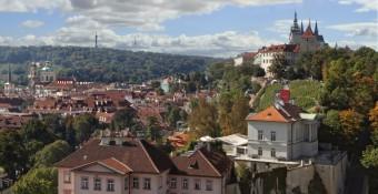 Villa Richter a Svatováclavská vinice na Pražském hradě, zdroj: Villa Richter
