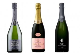 Charles Heidsieck Brut Réserve, Charles Heidsieck Rosé Réserve a Charles Heidsieck Blanc des Millénaires 2004, Premier Wines & Spirits