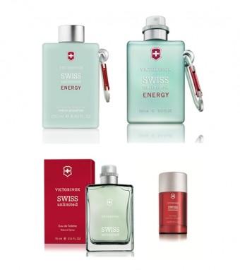 Swiss Unlimited, parfémy Victorinox