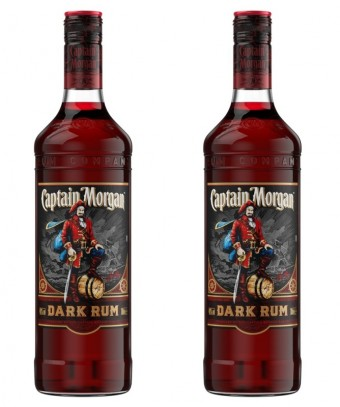 Captain Morgan Dark Rum, foto kredit: Stock Plzeň - Božkov