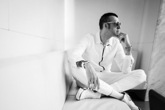 Karim Rashid para Interiores - Lupe de la Vallina, foto kredit: Mercedes-Benz Prague Fashion Week