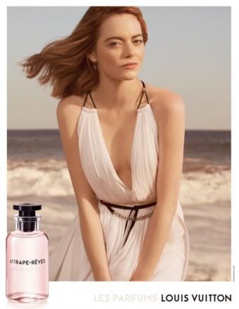 Emma Stone, kampaň na vůni Attrape-Rêves, kolekce Les Parfums Louis Vuitton, zdroj: Louis Vuitton