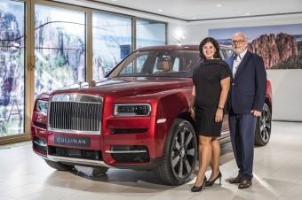 Eva Kadlecová a Karel Kadlec, Rolls-Royce Cullinan