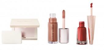 Invisimatte Blotting Powder, Gloss Bomb Universal Lip Luminizer a Stunna Lip Paint, Fenty Beauty by Rihanna, exkluzivně v parfumeriích Sephora