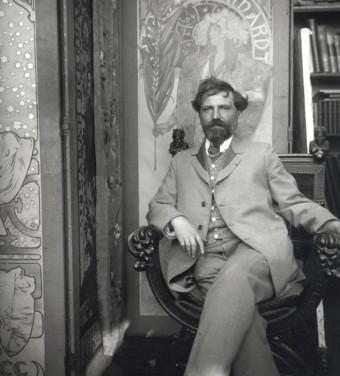 Alfons Mucha, foto: Slovart