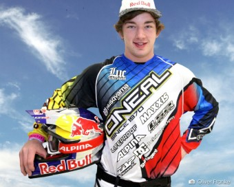 Luc Ackermann, foto kredit: FMX Gladiator Games