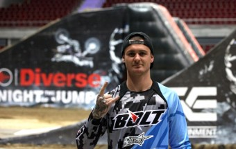 Ryan Brown, foto kredit: FMX Gladiator Games