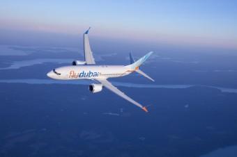 Boeing 737 MAX, foto kredit: flydubai