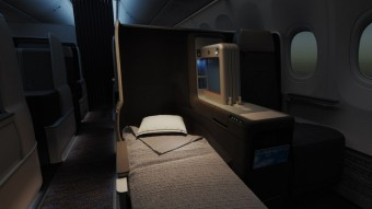 Business Class on the MAX 8, foto kredit: flydubai