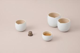 Nová kolekce kávových šálků Origin navržená Indiou Mahdavi, Nespresso