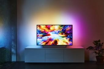 Ultratenký televizor Philips série 7303
