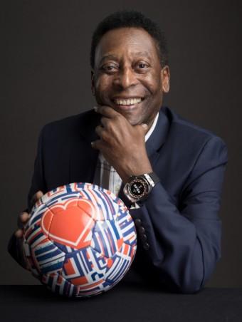 Fotbalová legenda Pelé součástí Hublot rodiny