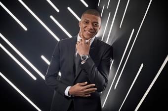 Fotbalová ikona Kylian Mbappé součástí Hublot rodiny