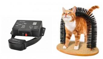 Vánoční tipy na dárky pro mazlíčky: ohradník pro psa a masážní kartáč pro kočky, TIPA.eu