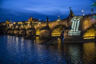 Oslavy 115 let Harley-Davidson v Praze