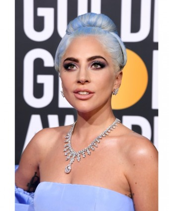 Lady Gaga zářila na Golden Globes v Tiffanyho diamantech, foto zdroj: Tiffany & Co.