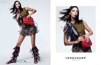 Kendall Jenner v nové kampani Longchamp