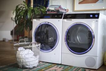 Pračka a sušička Avantgarde Siement, aplikace Home Connect, Siemens Home