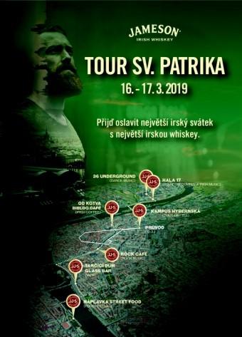 Tour svatého Patrika 2019, zdroj: JAMESON