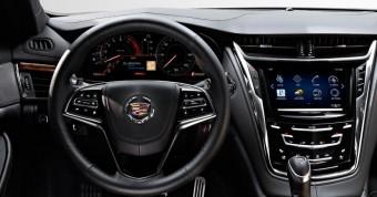 Interiér nového Cadillac CTS 2014