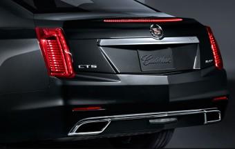 Zadní světla, nový Cadillac CTS 2014
