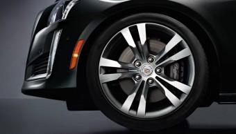 Detail kola, Nový Cadillac CTS 2014