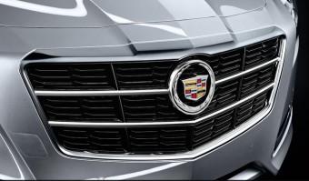 Přední maska nového Cadillac CTS 2014