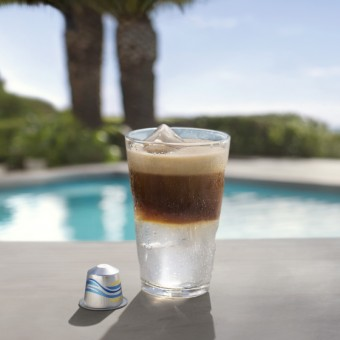 Long Black Over Ice Nespresso