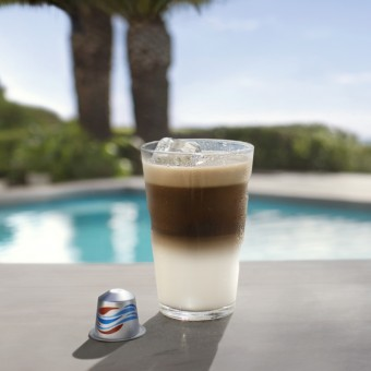 Flat White Over Ice Nespresso
