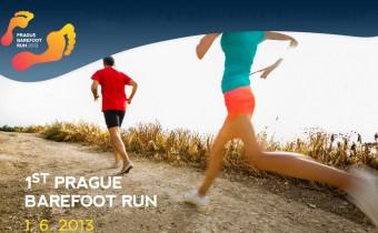 V Praze se uskuteční první běh naboso. Prague Barefoot Run