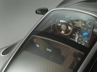 Panoramatická střecha Spyker B6 Venator