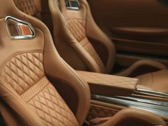 Luxusní kůže na sedadlech Spyker B6 Venator