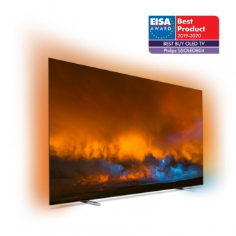 Model Philips OLED 804 TV získal ocenění Best Buy OLED Award