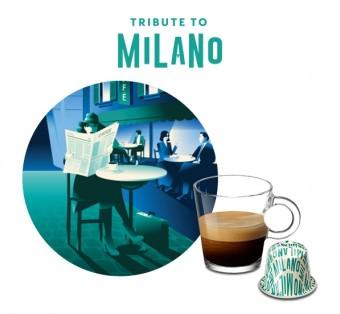 Limitované edice Nespresso Tribute to Milano