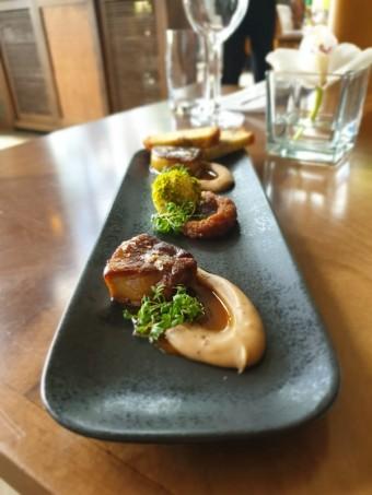 Foie gras, Art restaurant Mánes