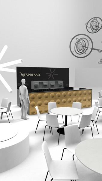 Bar Nespresso na Designbloku 2019