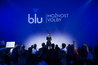 Gabriela Partyšová, představení vaporizér blu, foto: Imperial Brands
