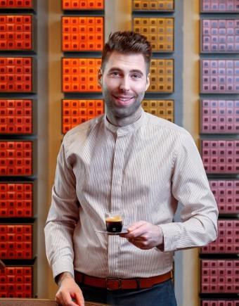 Vít Zákostelecký, Coffee Referent Nespresso