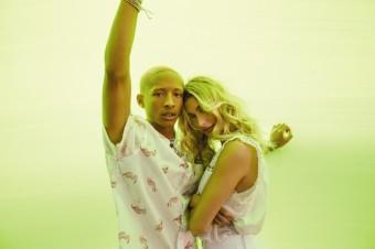 Hailey Bieber a Jaden Smith pro Levi´s