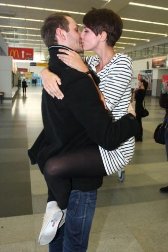 Z archivu: Gabriela Kratochvílová vítá přítele po návratu ze soustředí České Miss