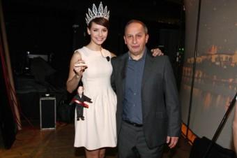 Česká Miss 2013 Gábina Kratochvílová v pořadu Show Jana Krause