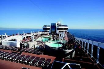 Paluba lodi Fantasia