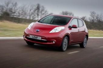 Nový vylepšený elektromobil Nissan Leaf