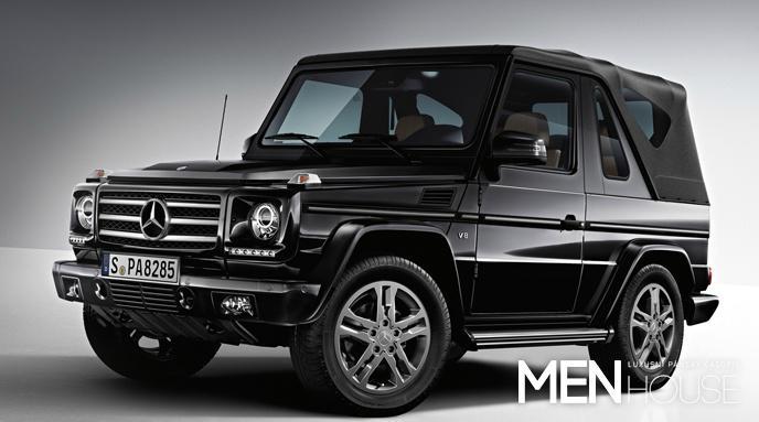 Mercedes G cabriolet - auto pro dobrodružství