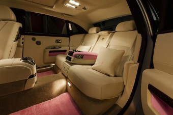 Interiér Rolls-Royce Ghost