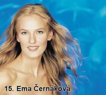 Miss z roku 2001 Ema Černáková stála modelem pro výrobu sošky
