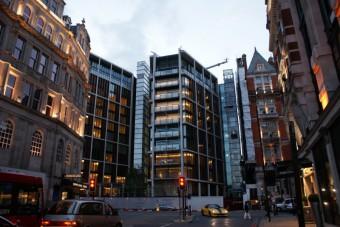 Penthouse v centru Londýna