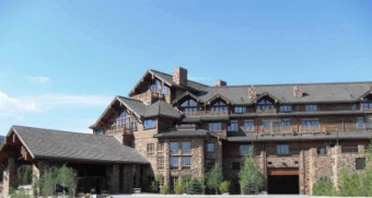 luxusní horská chata The Pinnacle v Montaně